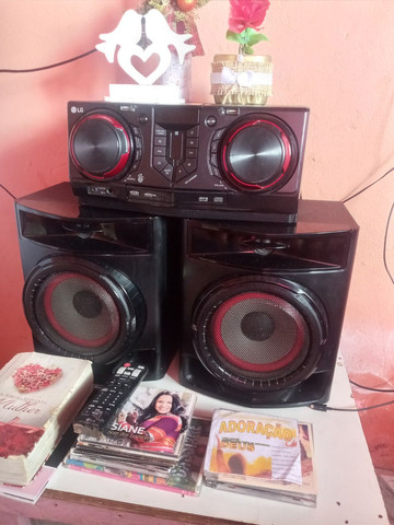 Aparelho de som potente é novo da LG 440wRMS * - Foto 5