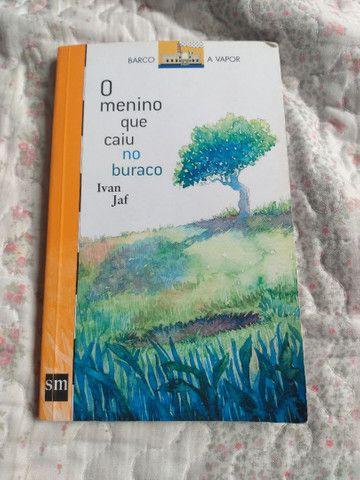 Livro O menino que caiu no buraco