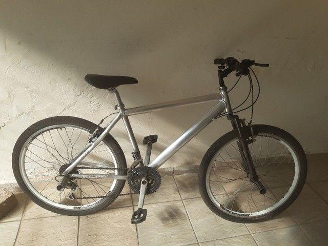 Bicicleta aro 26 aluminio roda aero cubo