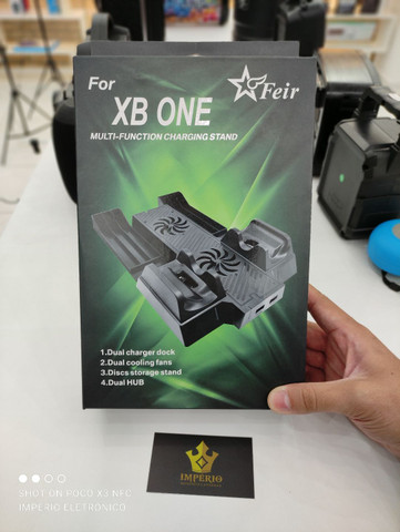 Multi função cooler carregador Xbox one