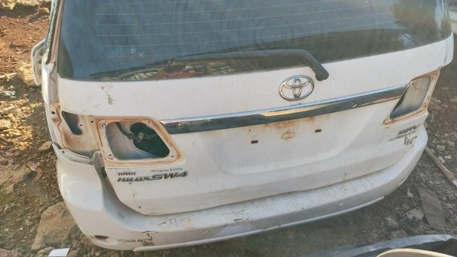 Tampa Traseira Toyota Hilux SW4 Usado E Revisado - Foto 2