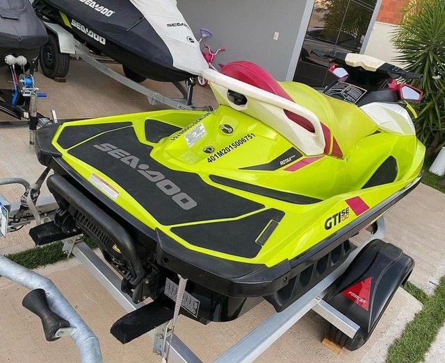 Jet ski GTI 130 se ano 2015 com horas :130  - Foto 4