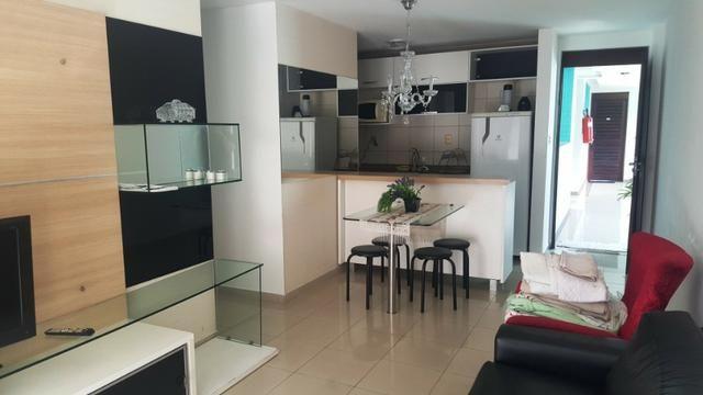 Na Beira do Cabo Branco com 2 quartos todo projetado e mobiliado - Foto 11