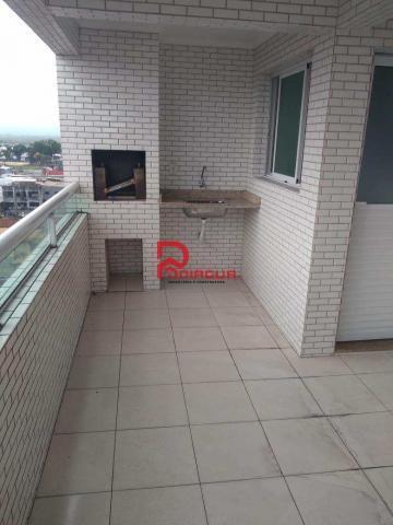 Apartamento para alugar com 3 dormitórios em Guilhermina, Praia grande cod:376