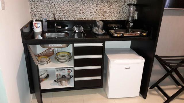 Flat Mobiliado para Venda Finamente Decorado - Hotel Executive - Foto 7