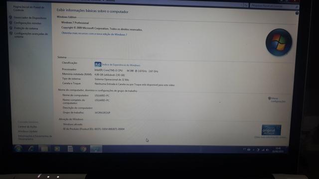 Notebook LG i3