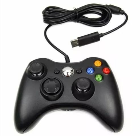 Controle Com Fio Xbox360