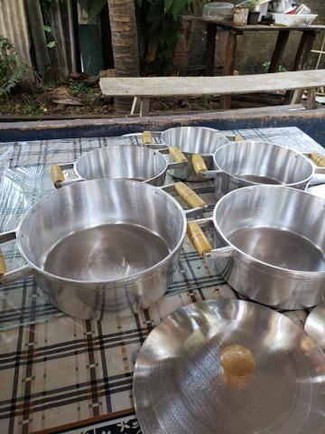 Panelas de alumínio batido - Foto 3