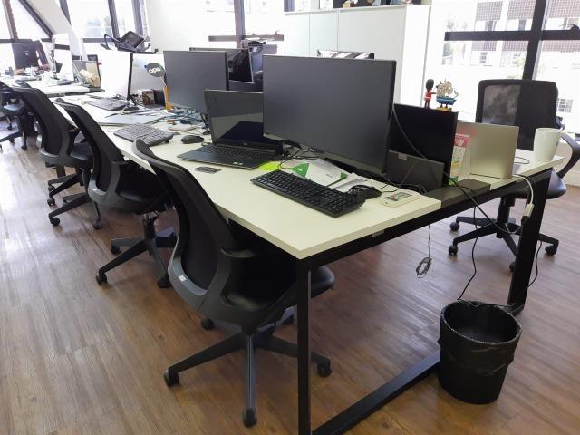 Estações de Trabalho Marca Funcional - Mesas com 6 Lugares