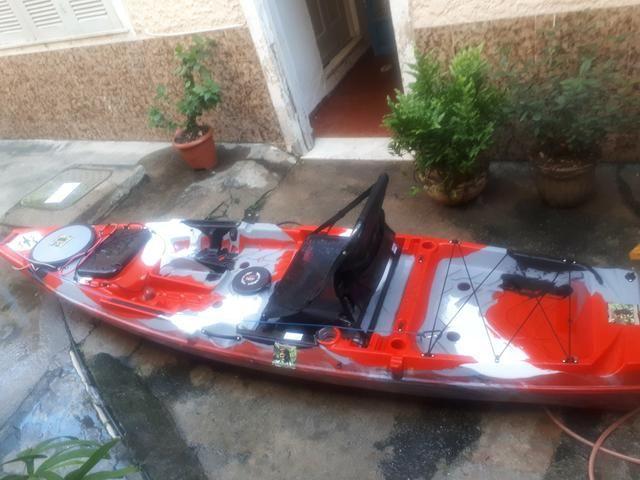 Caiaque Flash milha náutica completo aceito oferta em dinheiro - Foto 2