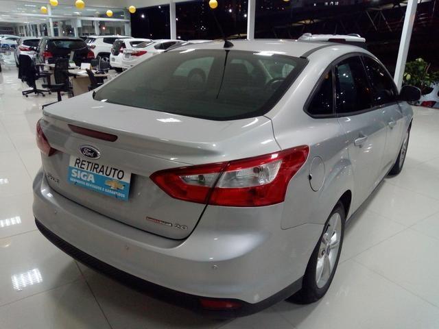 Procurar Anderson - Focus sedan 2.0 aut 14/15 prata completo só/53.483km - novo - - Foto 4