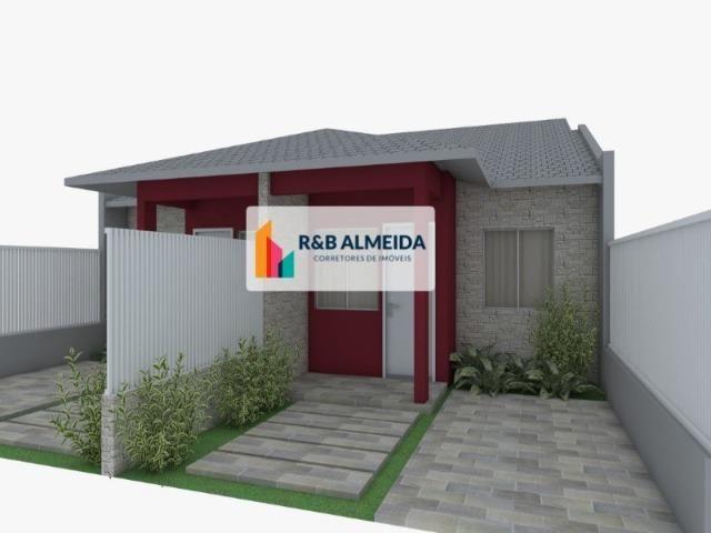 W#R Bela Casa com 2 dormitórios uma bela suíte bem localizada!