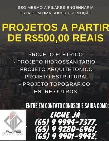 Projetos a partir de 500 reais