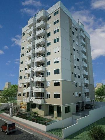 (L) Apartamento em construção 02 dorms, no bairro Jardim Atlântico, FLN