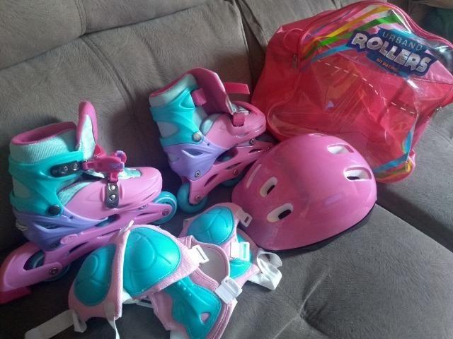 Patins roller infantil - Foto 6
