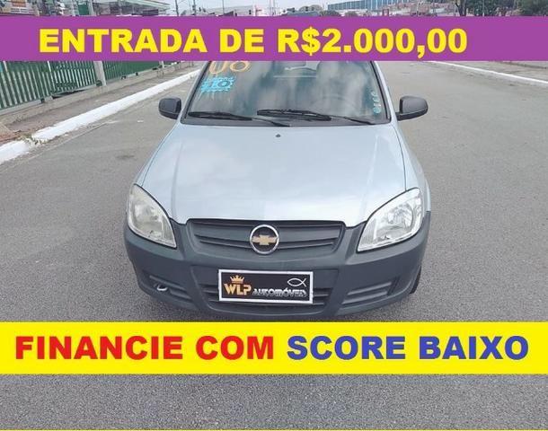 Gm - Chevrolet Celta Financie com Score Baixo 4000 de entrada