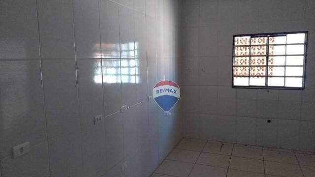 Casa 02 dormitórios e/ou salão comercial, locação, R$ 900,00 cada, Cosmópolis, SP - Foto 20