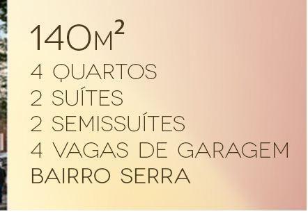 Cobertura à venda com 4 dormitórios em Serra, Belo horizonte cod:2480 - Foto 2
