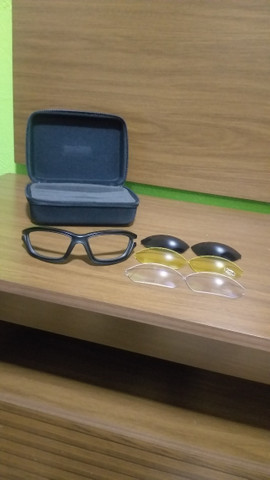 Kit óculos + 3 lentes esportivas Disix - Foto 5