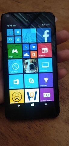 Nokia lumina trincado mais funcionando normal - Foto 3