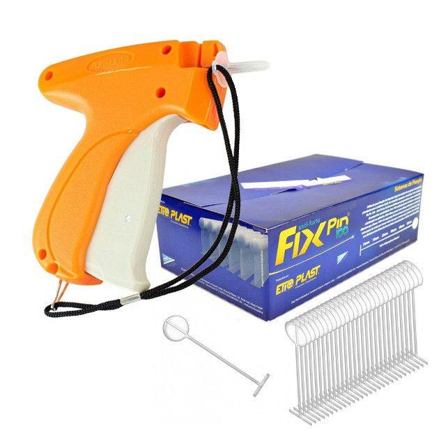 Aplicador P/ Tag Pin, Etiqueta, Preços + 5000 Pins P/ Roupas