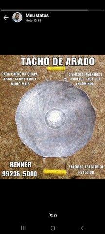 Chapa / Tacho de Arado Original