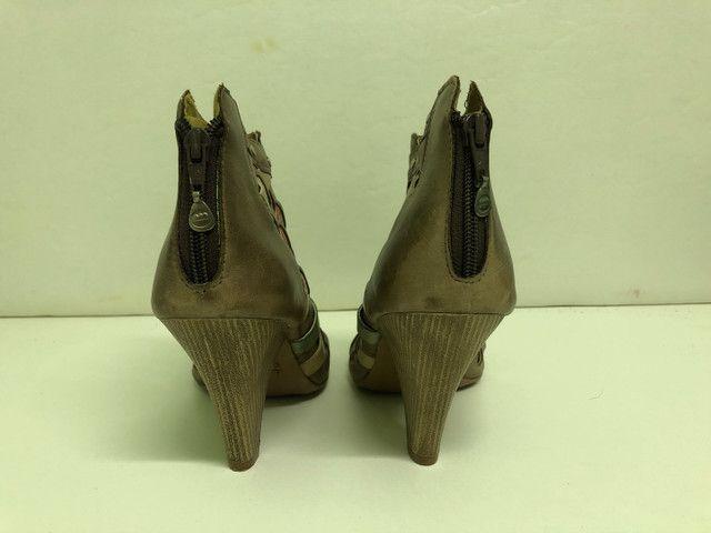 Colore Sapato Todo em Couro - Foto 5