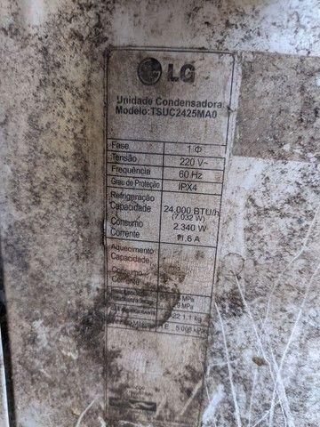 Condensadora 24.000 btu's serpentina de cobre R$400