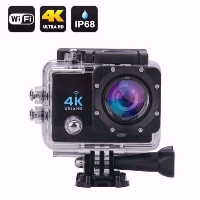 Action Câmera Digital Sport 4k 1080p Case A Prova Dágua Wifi - Foto 2