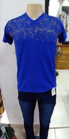 Camisetas masculinas a 20,00 reais