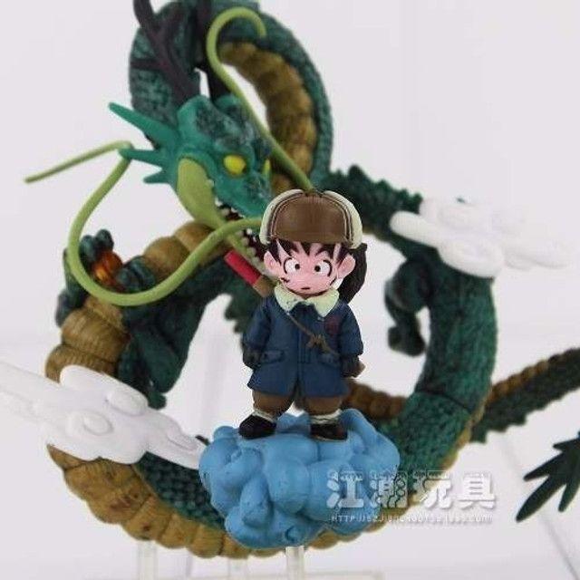 Action Figure Dragon Ball Goku Menino + Shenlong