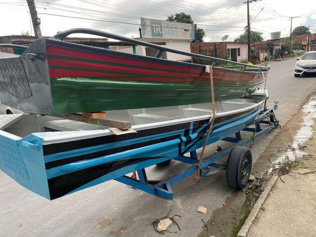 Fabricamos canoas e botes de alumínio PREÇO FÁBRICA  - Foto 2