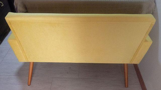 Poltrona pés palito - sofá 2 lugares - namoradeira - Foto 4