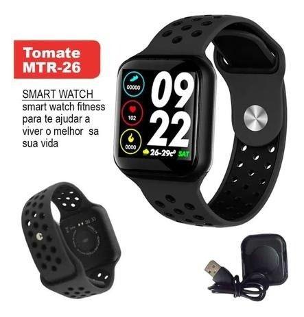 Smartwatch Relógio Inteligente Mtr-26 Batimentos Pressão - Foto 3