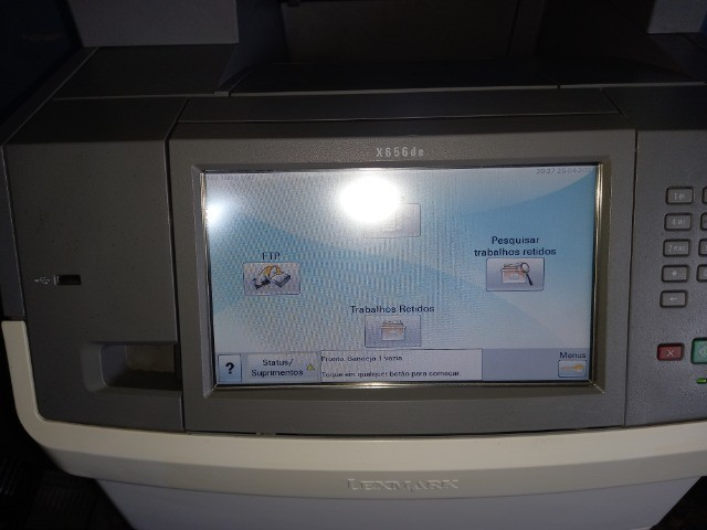Impressora multifuncional X656 Lexmark  - Foto 2