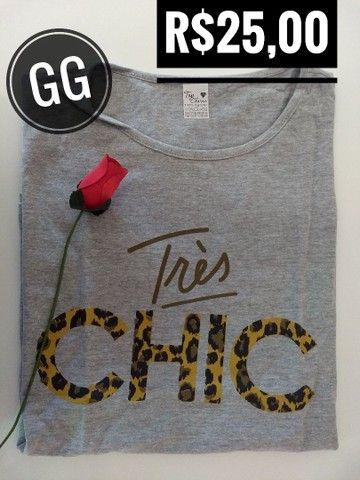 T-shirt / Blusas Femininas - Foto 6