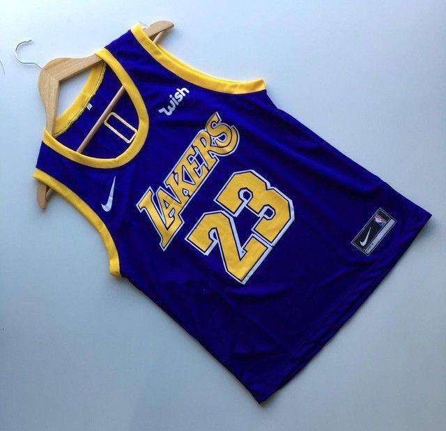 Regata NBA Lakers/ Bulls/ Warriors/ Celtics