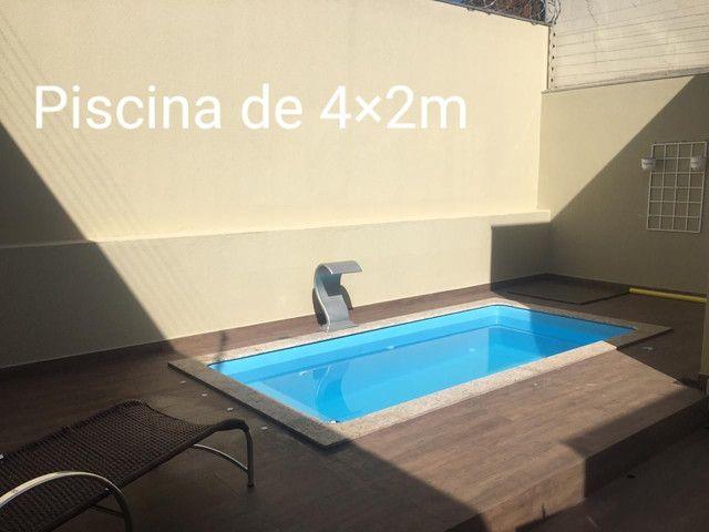 piscinas de fibra Bsb 4,00×2,00/ 1,20 profundidade