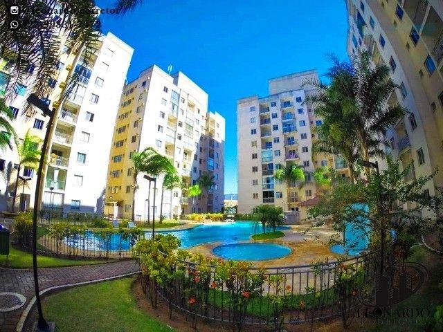 Apartamento 2 Quartos em Colina de Laranjeiras - Lazer completo - Varanda - Elevador
