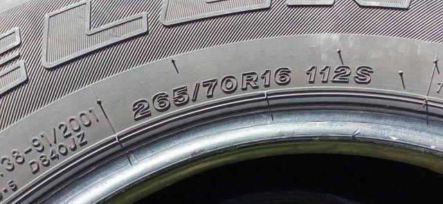 Pneus Bridgestone 265/70 R16 - Foto 3