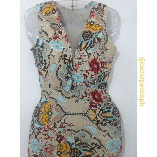Vestido Estampado de Malha  - Foto 2
