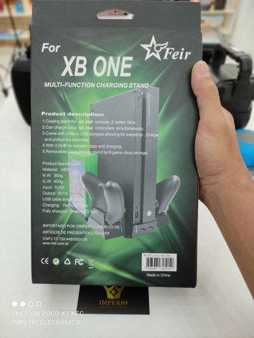 Multi função cooler carregador Xbox one - Foto 5