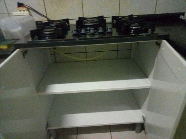 Fogão cooktop com armário de aço Itatiaia. - Foto 3