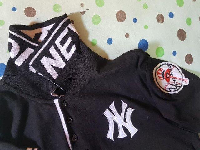 Camisa Polo New York Yankees - Foto 2