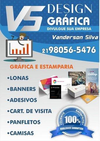 Gráfica Aberta! Tudo em material gráfico para ajudar sua empresa!