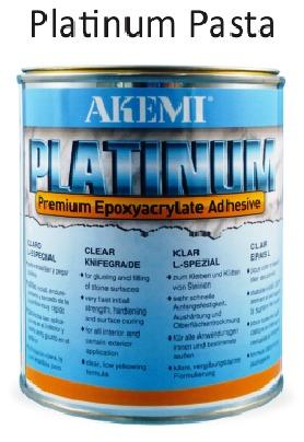 Platinum Cola Epoxi Akemi para Quartzo Silestone Dekton