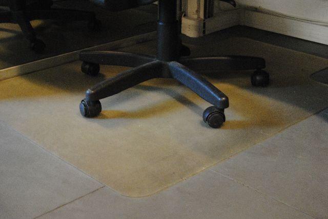 Protetor de piso para cadeiras escritório