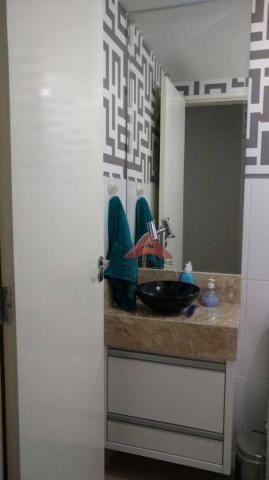 Apartamento com 2 dormitórios à venda, 49 m² por r$ 173.000 - vila tesouro - são josé dos  - Foto 3