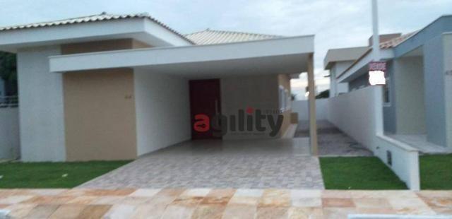 Casa com 3 dormitórios à venda, 190 m² por r$ 460.000 - parque das nações - parnamirim/rn