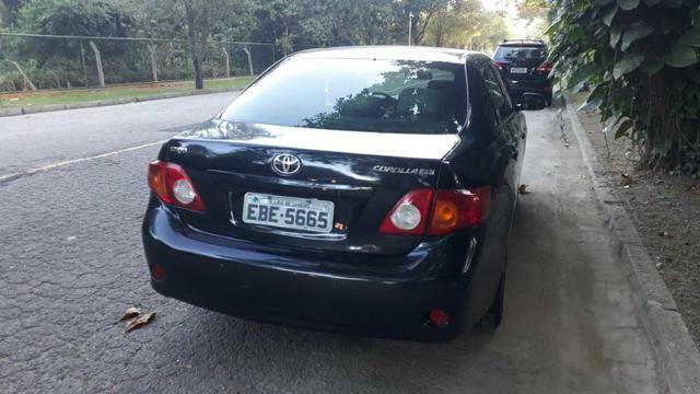 Toyota Corolla XEI-1.8 Flex com GNV 5aGeração com central Multimídia.Muito novo! - Foto 6